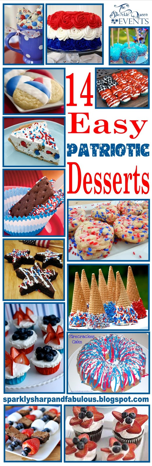 14 easy patriotic desserts for the fourth of july a for Where can i find blue bell christmas cookie ice cream